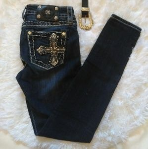 Miss me jeans skinny mid-rise size 26